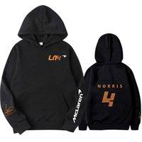 Sudaderas con capucha para hombres Sudaderas 2021 Primavera, otoño e invierno Fórmula One Traje de carreras F1 Camisa McLaren Fan Hoodie Equipo Logo Super Dalian