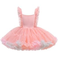 1st Birthday Dress For Baby Girl Girls Dresses Kids Clothes Children Clothing Lace Tutu Skirt Princess Dance Party Ball Gown B8250