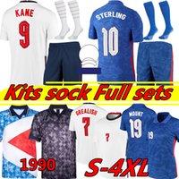 England National Social Copa Europeu Futebol Jerseys Inglaterra 2020 2021 Liga Kane Futebol Jerseys Rashford Dele Sterling Mout Futebol Treinamento