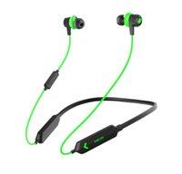 Dacom GH02 스테레오 블루투스 이어폰 헤드셋 게이머 V5.0 게임용 무선 헤드폰 Android 휴대 전화 용 RGB LED 빛