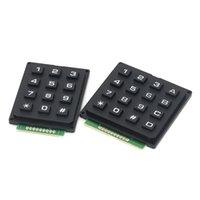 3 * 4 4 * 4 matriz teclado teclado teclado módulo ABS teclas de plástico 4x4 3x4 12 16 botão chave interruptor de membrana kit diy para arduino