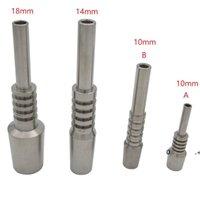 Titanium Nail Tip Nectar Collecteur Neckess Fumeurs Accessoires 10mm 14mm 18mm Gr2 Invert Navigé 2 TI Nails pour remplacement NC EWF10569