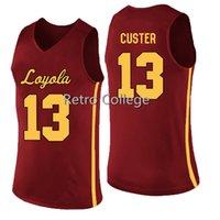 Loyola Chicago Ramblers 14 Ben Richardson 13 Clayton Custer 25 Cameron Krutwig Basketball Jersey 0 Donte Ingram 1 Lucas Williamson 5 Marques Townes 24 Aundert Jackson