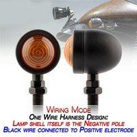 Acil Durum Işıkları 2 adet Motosiklet Dönüş Sinyalleri Göstergesi Işık 12 V Motor Blinker Lambası