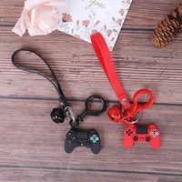 Mode Video Game Console Controller Ring Creative Cartoon Joystick Model Handle Key Hanger Car Zak