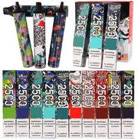 10 colors Original e Cigarette Disposable Vape Monster max 2500Puffs Power Battery Pre-filled Pods Cartridges Vapor vs puff bars