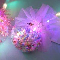 Princesa Light-up Magic Ball Wand Stick Stick Witch Wizard LED Magic Wands Halloween Chrismas Fiesta Rave Toy Gran regalo Niños Cumpleaños CCF7771