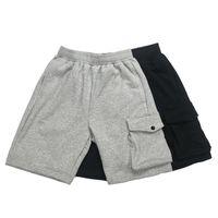 Erkekler Şort Rahat Joggers Pantolon Erkek Kadın Pantolon Gri Pembe Haki Moda Pamuk M-2XL Hayır. SK005