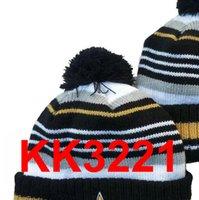 New Beanies NOP Football Beanies 2021 Sport Knit Hat Pom Pom Hats Hot NY GB NE Teams Knits Mix And Match All Cap A10