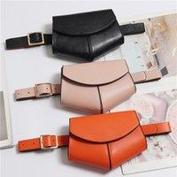 Serpentine Fanny Pack Ladies 2021 New Fashion Women PU Leather Waist Belt Bag Mini Disco Waist bag Leather Small Shoulder Bags