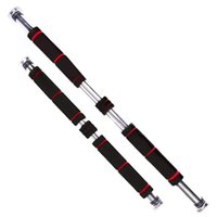 Tragbare, verstellbare Bar-Hochleistungs-Pull-ups-Kinn-up horizontale Fitness-Übung Gym Accessoire für Heimtür - Bars