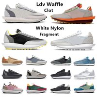 Sacai Varsity Blue ldv waffle Daybreak Chaussures de sport pour hommes Summit White Black Nylon Wolf Grey chaussure plate-forme Baskets pour hommes Baskets de sport Chaussures mode