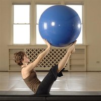 45/55/65 / 75cm Exercice Yoga Ball Pilates Fitness Gym massage avec des boules de pompe