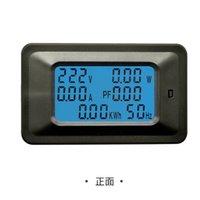 20A / 100A AC LCD Digital Panel Power Watt Meter Monitor Tensione Tensione KWH Voltmeter Ammeter Tester Tools