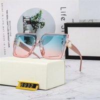 Top Calidad Classic Redondo Gafas de sol Marca Gesign UV400 Eyewear Metal Marco de oro Gafas de sol Hombres Mujeres Vidrio Lente