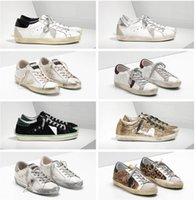 Golden Goose Deluxe Brand GGDB Brand Italian Small Sterri Shoes # Sneakers Classic Bianco Distres # G33MS590 Scatola originale 35-45 Designer scarpe da 35-45 Scarpe casual per uomo