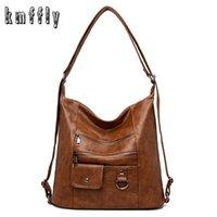 Women Leather Handbags Women Messenger Bags Designer Crossbody Bag Women Bolsa Top-handle Bags Tote Shoulder Bags 211026