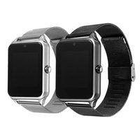 Z50 montres intelligentes soutenir carte SIM smartwatches montre intelligente bluetooth compatible avec IOS et Android avec boîte-cadeau