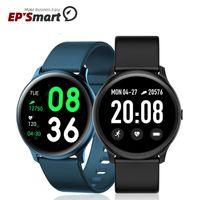 Whole Sale KW19 Reloj Smart Watch 2021 Touch Screen Fitness Sports Blood Pressure Bar Bracelet Y68 D20 T500 Smartwatch, eppioneer