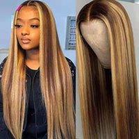 2021 новый парик женские коричневые золотые длинные прямые волосы розовые сеть