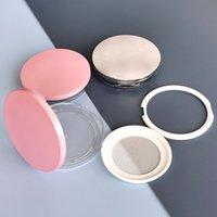 Svuoti la bottiglia ricaricabile cosmetica del barattolo del vaso di barattolo della polvere della polvere del fazzoletto del vaso del fazzoletto della scatola del flush