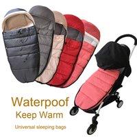 Universal baby stroller accessories Winter socks Sleeping Bag Windproof Warm Sleepsack Baby Pushchair Footmuff For Babyzen yoyo 210923