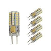Grânulos claros LED Bulbo GY6.35 Pé de espessura ACDC12V-24V 3014 Lâmpada de milho pequena halogênio de substituição adequado para iluminação interna