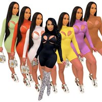 Women Sexy Double Set Jumpsuit + Crop Top Elastic Taille Streetwear Summer Clothing for Outfit
