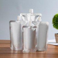 DoyPack 150ml 250ml 350ml 500ml 500 ml di alluminio alluminio stand up bevut borse liquido confezione bevanda spremere bevanda bevanda sacchetto DWB8210