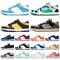 2021 Top Dunks Low Running Shoes Coast Michigan for men women Chunky Dunky University Blue Syracuse Valentines Day Classic Lows mens trainers sports sneakers