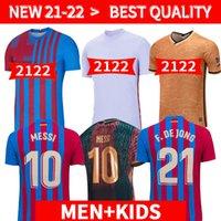 Versión del Jugador Camiseta de Fútbol Messi Barca 20 21 22 Camiseta Futbol Ansu Fati 2021 2022 Griezmann F. De Jong Camisetas de Fútbol Camiseta Hombres Kiti