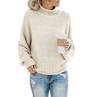 New Korean Fashion Full Sleeve Women Loose Knitting Autumn and Winter Sweater