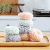 Cleaning Ball Novelty Acrylic Scrubbers Kitchen Dishwashing Wire for Kitchens Accessories Easy To Clean