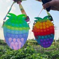 Halloween Natale festa favoriti regali fidget giocattoli nuovi borse stile arcobaleno colori macarons decompresso giocattolo borse borse borse per bambini