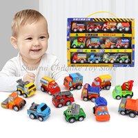 أطفال لعبة نموذج سيارة المحمولة مربع النخيل الكنز مصغرة البلاستيك لعبة سيارة صبي لعب هدية دييكاستس التعليم لعبة للأطفال