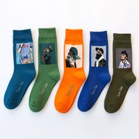 Womens Socks Off Multi Color And White Long Cotton Female Soild 5 colors Mesh For All Size