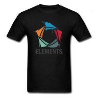 Splatter Elements T-shirt Men Logo T Shirt Black Tshirt Graphic Tops Tees Team Shirts Company Custom Clothes Cotton Fabric [<maotq29@163.com
