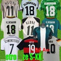 2004 2006 1990 1990 1992 1994 ألمانيا الرجعية لكرة القدم جيرسي الرئيسية Klinsmann Matthias Football Shirts 1996 1998 1988 1980 2014 Kalkbrenner Littbarski Ballack