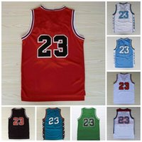 Vintage 1997 Basketball Jerseys 23 College Caroline du Nord Looney Team 96 98 cousue