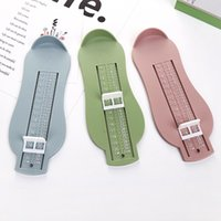 1pc 3 Couleurs Bébé Foot Pied Règle Enfants Foot Longueur Mesure Chaussures d'enfants Calculatrice pour enfants Chaussures bébé Raccords Gauge 1096 x2