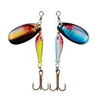 Balıkçılık Spinner Yem 9g Kaşık Lure Metal Yemler Tiz Kanca Yapay Balık Wobbler Besleyici Sazan Balıkçılık Cazibesi 1169 Z2