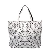 حقيبة المرأة 2020 جديد الكورية نمط الماس مبطن حقيبة قابلة للطي حقيبة كتف أزياء سعة كبيرة في الأوراق المالية