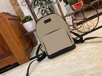 All'ingrosso borsa di modo di fascia alta borsa backpackbags tasca tascabile in pelle retrò modello classico ad alta capacità Dicky0750