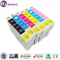 Cartuchos de tinta Cartucho compatible para T0851 T0851N - T0856N STYLUS PO 1390 T60 etc.