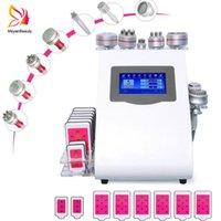 9in1 40K Ultrasonic Cavitation Machine 8 Pads Liposuction LLLT Lipo Laser RF Vacuum Cavi Lipo Slimming Skin Care Salon Spa Equipment