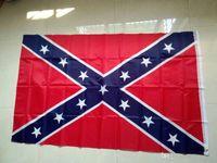 100pcs USA 3x5 pies bandera americana bandera de Estados Unidos 100% poliéster bandera, bandera de Estados Unidos bandera confederada Banderas rebeldes