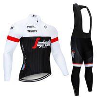 Брюки бренда высококачественные профессиональные ткани носить длинную джерси велосипедную одежду велосипедная одежда