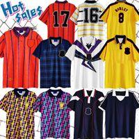 İskoçya Futbol Forması 1988 1991 1992 1993 Retro 1978 93 94 96 98 McCoist Bowman McLeish McInally Baxter Johnston Vintage Klasik McAllister Gömlek