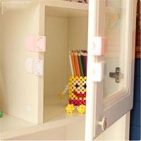 Cerradura de gabinete de seguridad de bebé Ajuste redondo Protección de ajuste para niños Productos Niños Puertas Puertas Porteros, Eslingas Mochilas