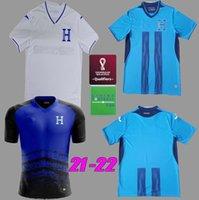 República de Honduras Soccer Jerseys 2021 2022 López Castillo Garcia Maillot Beckeles Lozano 7 Izaguirre Home Shirt de football